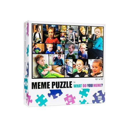 What Do You Meme? Gavin Thomas Memes 500 Piece Puzzle What Do You Meme? Gavin Thomas Memes 500 Piece Puzzle