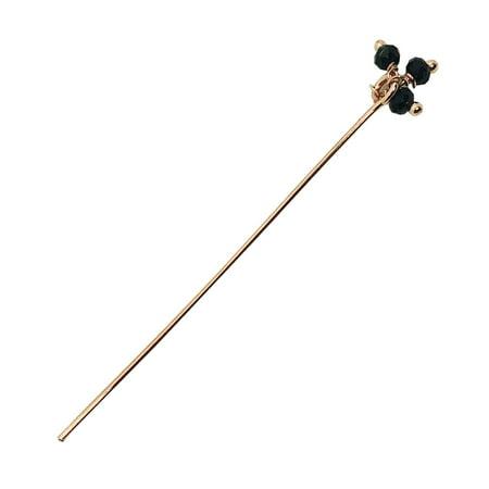 Quartz Stick Pin - HPRG-115-OX-2
