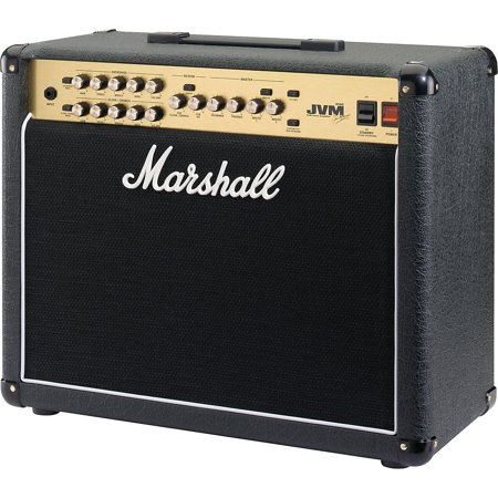 Marshall JVM Series JVM215C 50W 1x12 Tube Combo Amp Black Marshall Bass Amps
