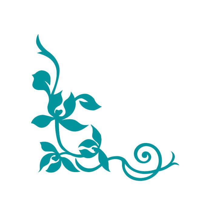 Corner Embellishment Decals - Large