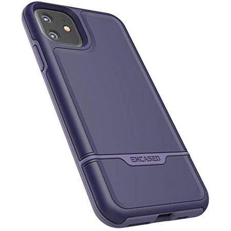 Encased Heavy Duty iPhone 11 Protective Case Purple (2019 Rebel Armor) Military Grade Full Body Rugged Cover - image 1 of 5