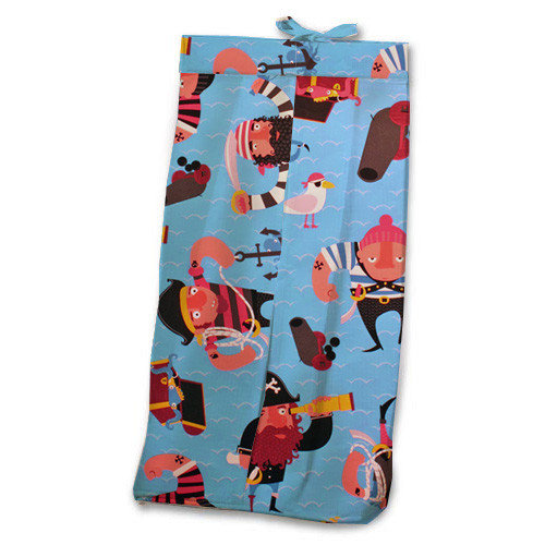 Room Magic Pirate Pals Diaper Stacker