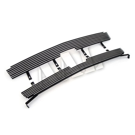 AAL REPLACEMENT BILLET GRILLE / GRILL INSERT For 2003 2004 2005 2006 CHEVY AVALANCHE- W/O CLADDING 2PCS UPPER REPLACEMENT