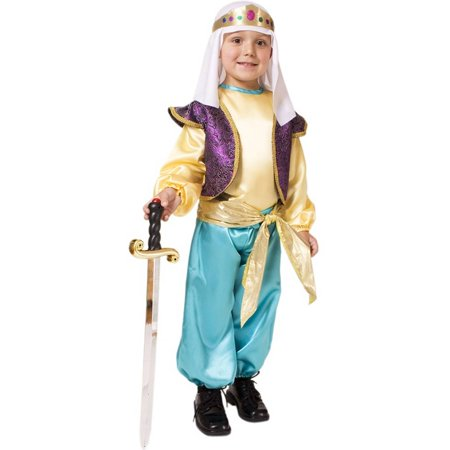 Dress Up America 551-T4 Arabian Sultan - Toddler T4 (Cheap Arabian Costumes)