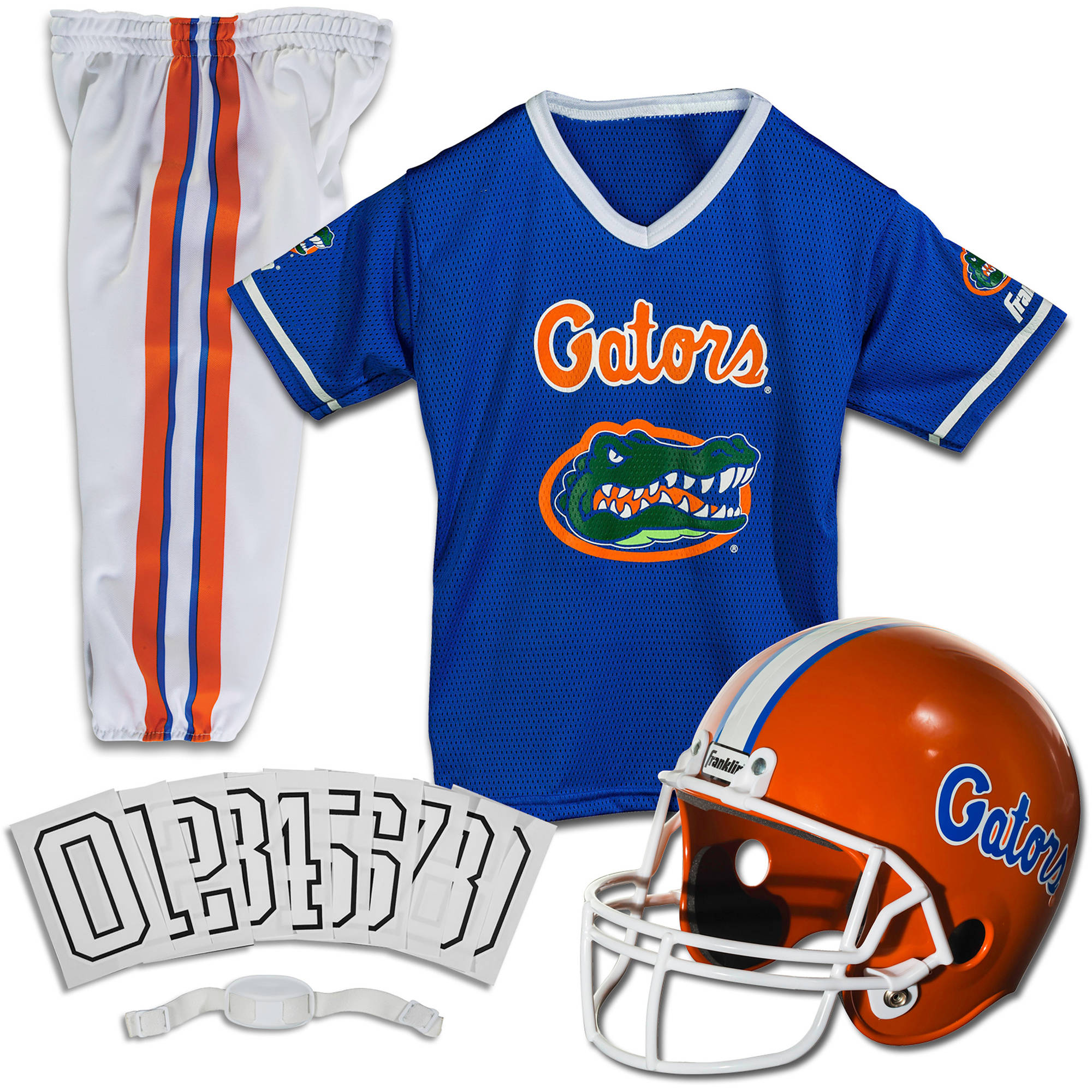Franklin Sports NCAA Florida Gators Uniform Set, Small