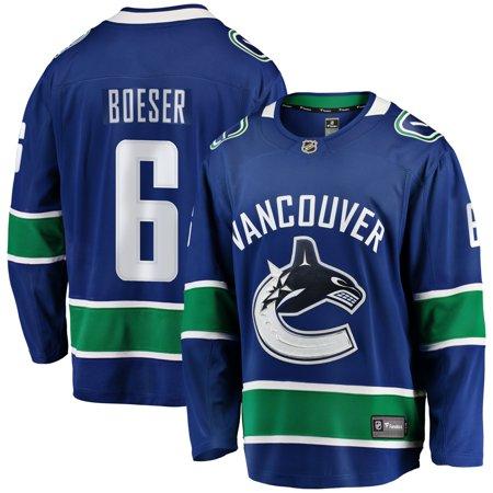 half off 21153 e5654 Brock Boeser Vancouver Canucks NHL Fanatics Breakaway Home Jersey | Walmart  Canada