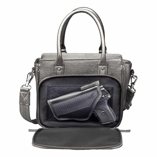 GTM Conceal Carry Park Avenue Tote, Gun Metal