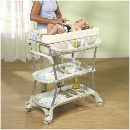 Baby Bathtub Stand - Primo Euro Spa Baby Bathtub and Changer Combo