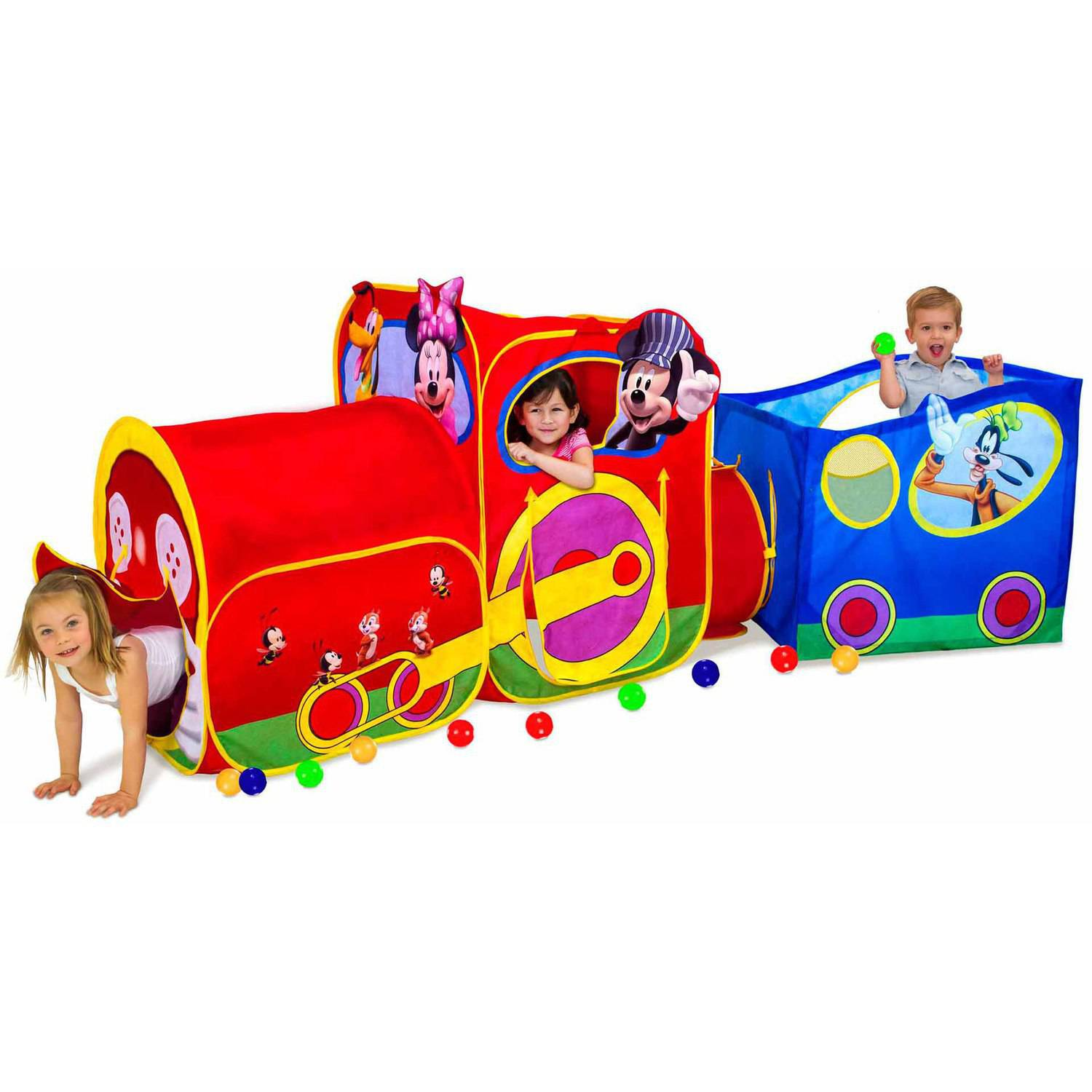 sc 1 st  Walmart & Playhut Disney Mickey Mouse Choo Choo Express Train - Walmart.com