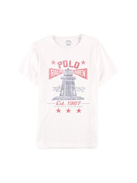 c7dc4516 Product Image Ralph Lauren Mens Lighthouse Graphic T-Shirt white M