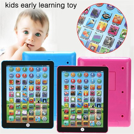 Baby Tablet Educational Toys For Kids 1-6 Years Toddler Learning English Gift
