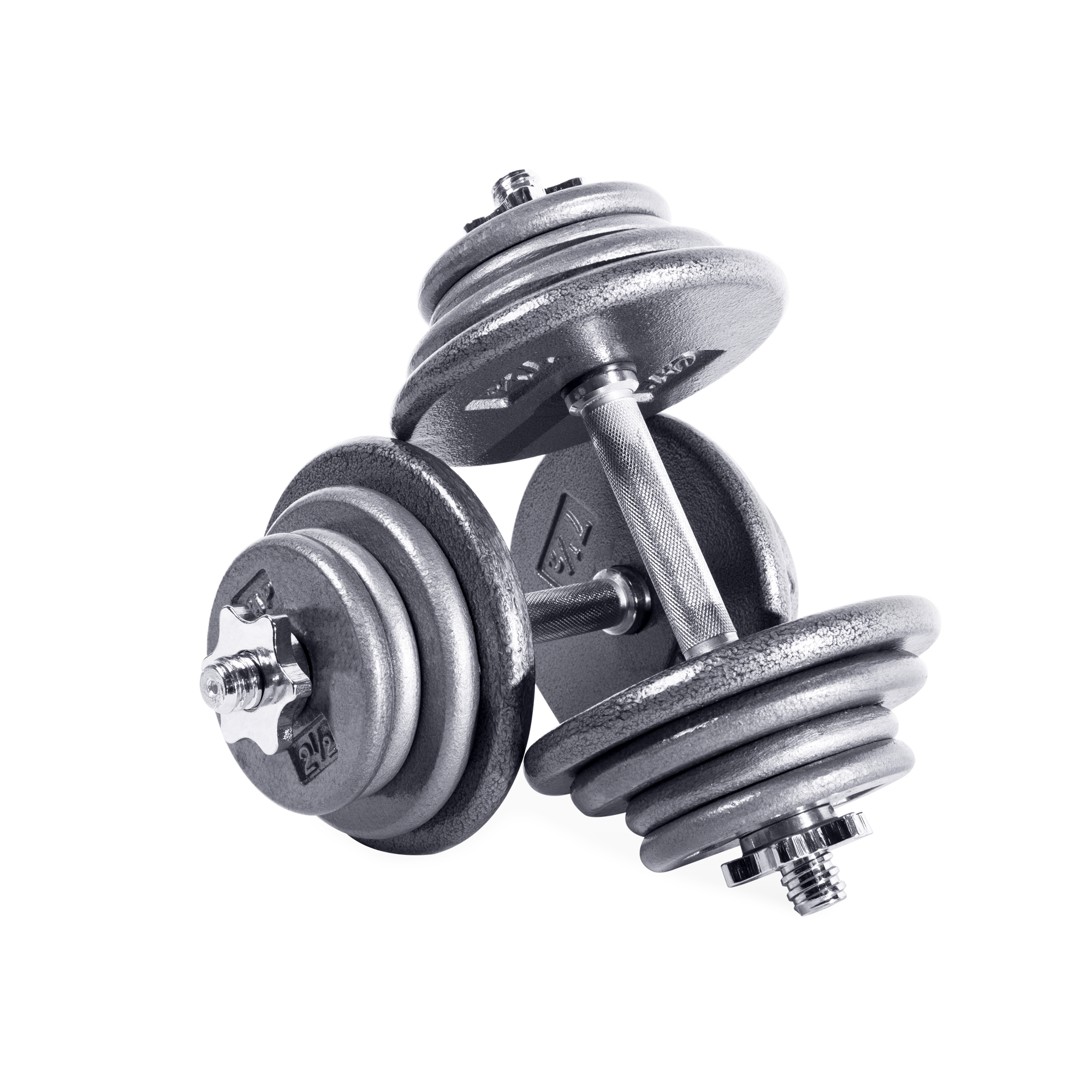 CAP Barbell 75 lb Adjustable Dumbbell Set - Pair