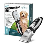 Best Dog Clippers Wirelesses - PetTech Professional Dog Grooming Kit - Rechargeable, Cordless Review