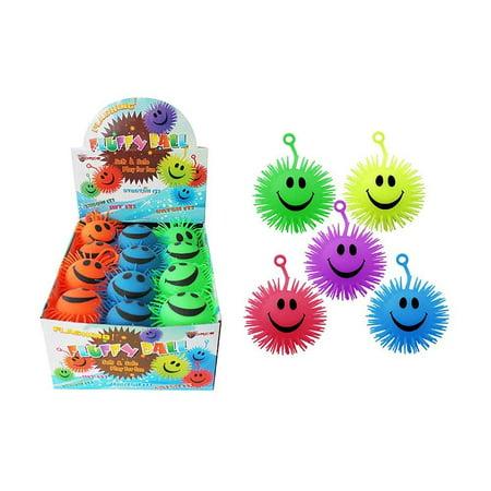 Flashing Ball (Diamond Visions TB-1153 Flashing Yo-Yo Puffer Ball MultiPack in Assorted Colors (3 Puffer Balls))