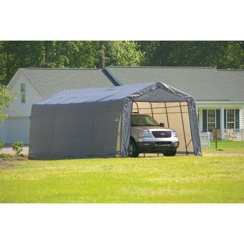 Shelterlogic 13' x 28' x 10' Peak Style Carport Shelter by ShelterLogic