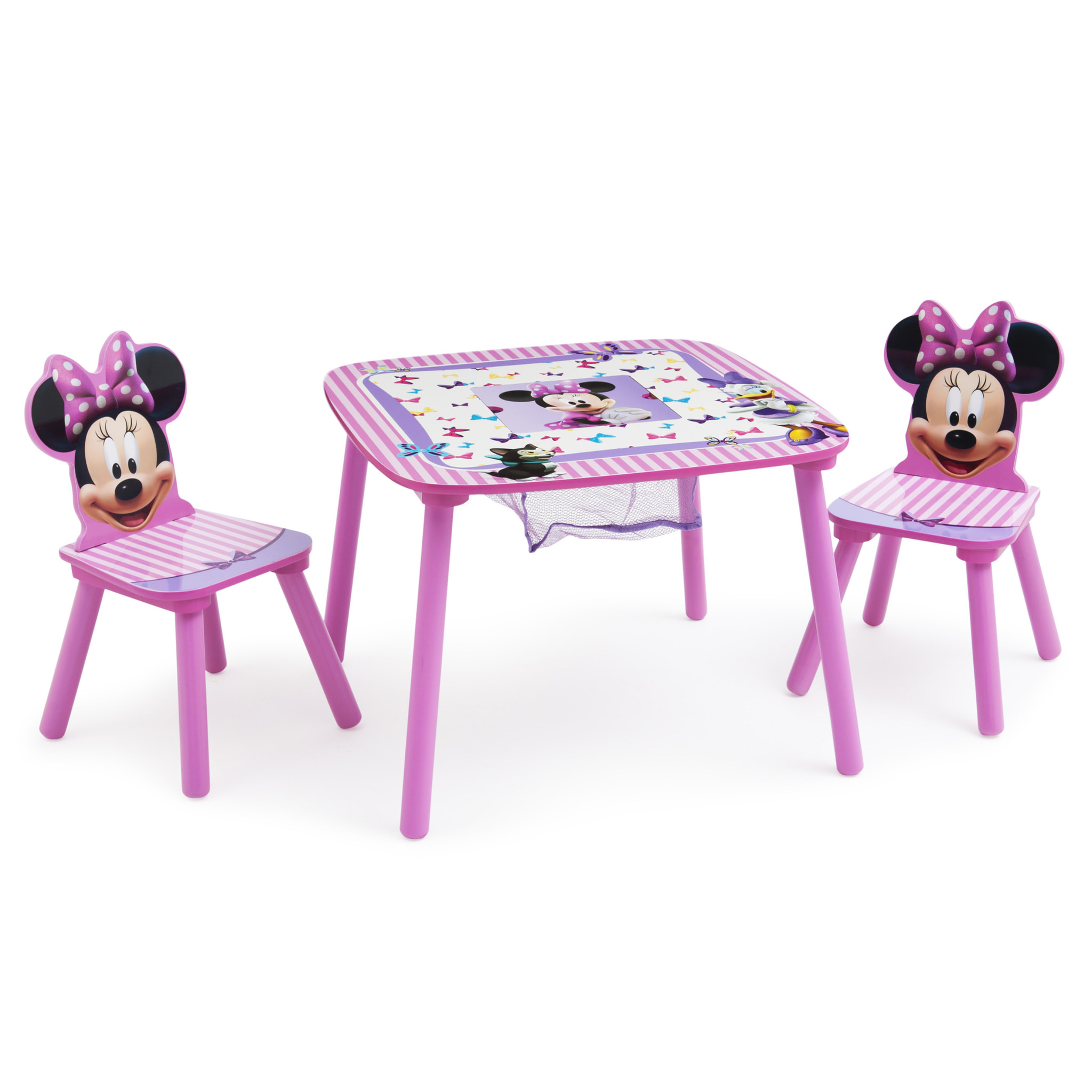 Minnie Mouse Toddler Table and Chair Set with Storage