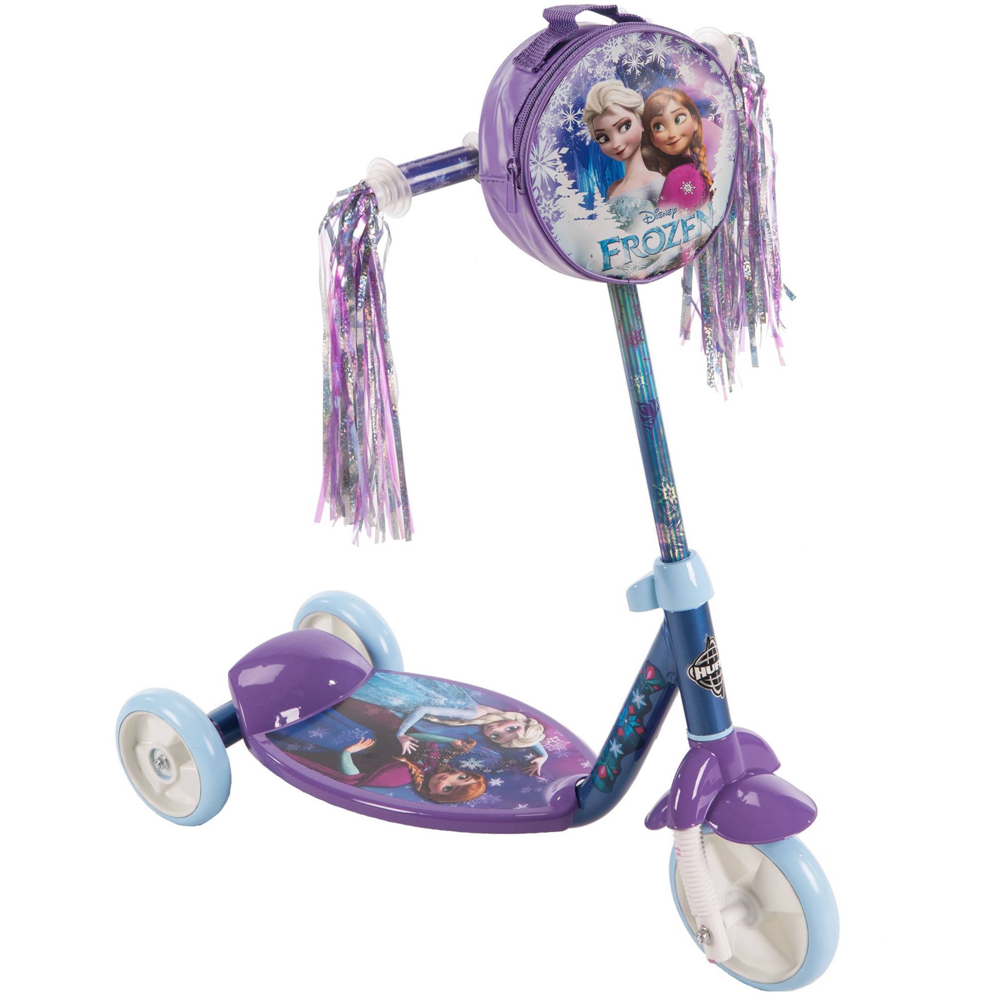 Disney Frozen Preschool Girls Purple Scooter, by Huffy by Huffy