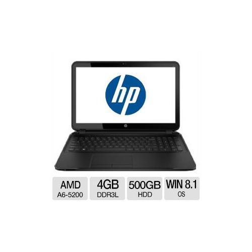 "HP 255 G2 AMD A6-5200 4GB Memory 500GB HDD 15.6"" Notebook Windows 8.1 Pro 64-bit"