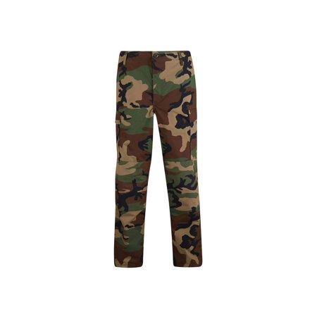 BDU Military Six Pocket 60% Cotton 40% Poly Button Fly Trouser Pants (Bdu Uniform Pants)