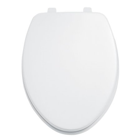 how to clean white plastic toilet seat