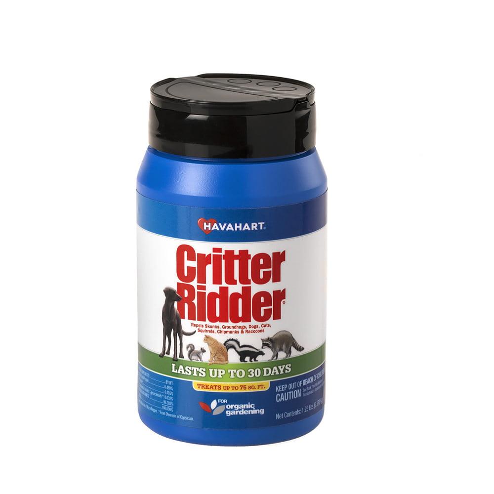 Havahart Critter Ridder 1.25 lb. Animal Repellent Granular Shaker