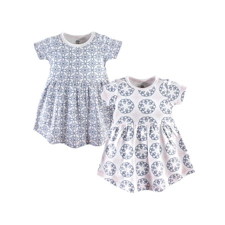 Short Sleeve Dresses, 2-pack (Toddler Girls)