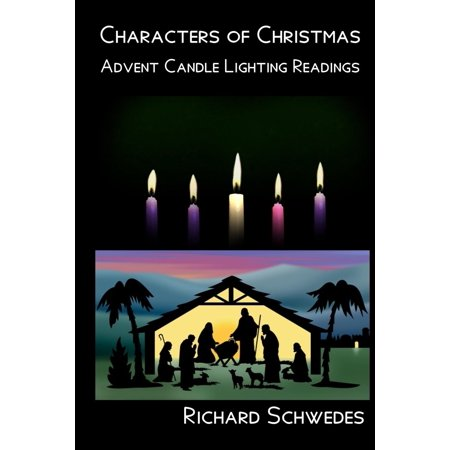 Characters of Christmas - Advent Candle Lighting Readings (Paperback)](Candle Character)