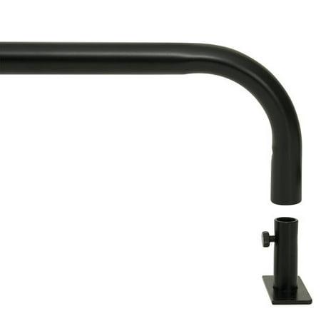 Mainstays Adjustable Black Out Curtain Rod Walmart Com