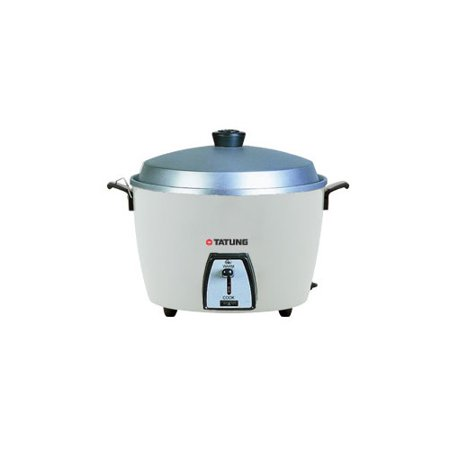 Tatung Tatung 20-Cup Multifunction Indirect Heat Rice Cooker Steamer and Warmer