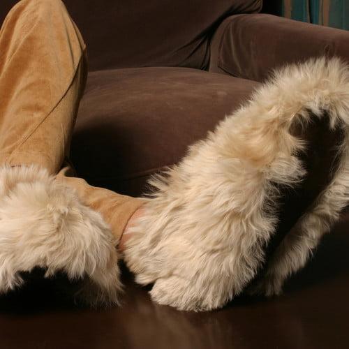 Deluxe Comfort Alpaca Slippers
