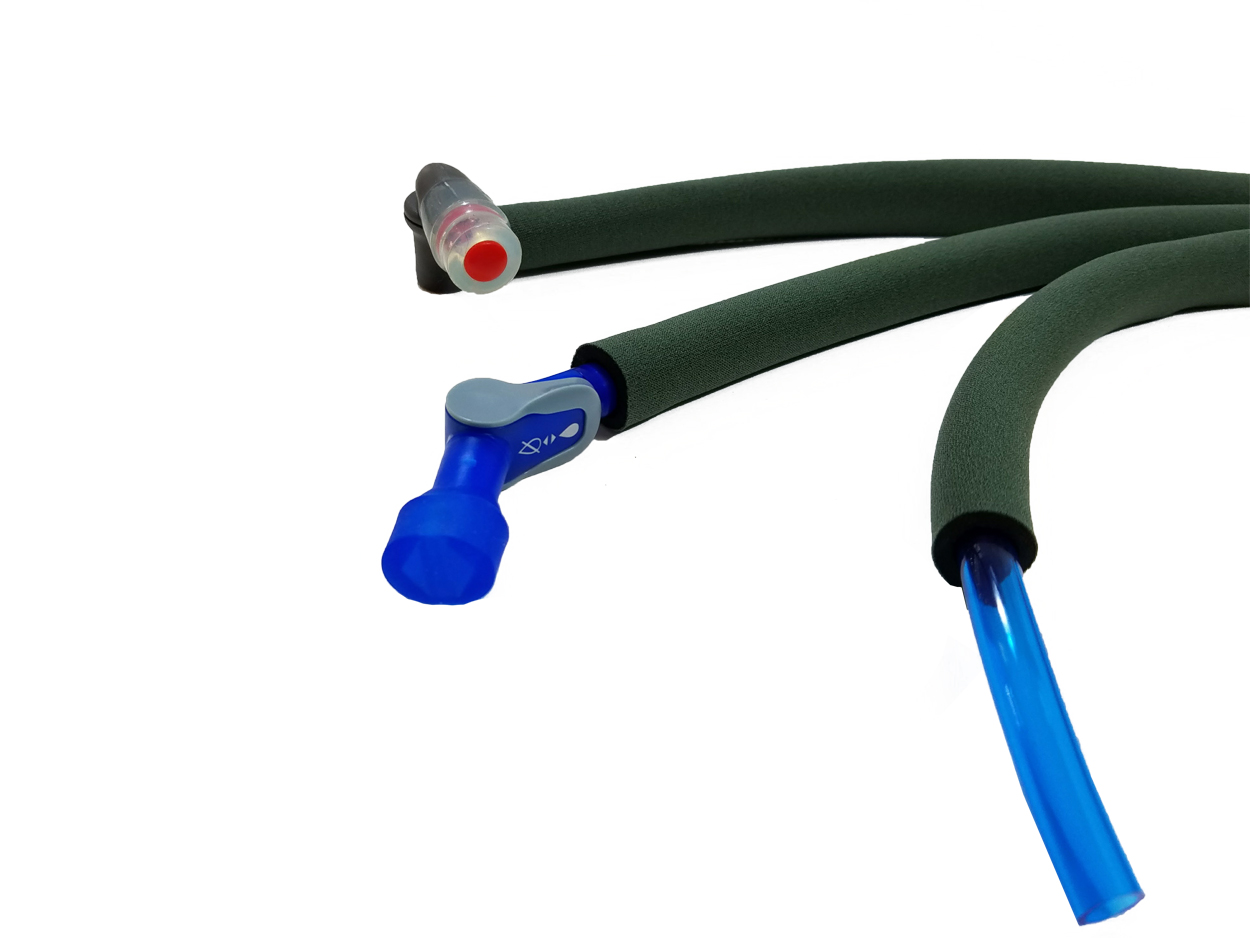 Hydration Pack Insulated Drink Tube Hose Cover Sleeve Forest Green by