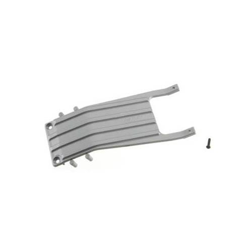 81256 Front Skid Plate Gray Slash Multi-Colored