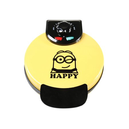 Uncanny Brands Minions Waffle Maker - Non-Stick Electric Waffle Iron Fun Kitchen Appliance in