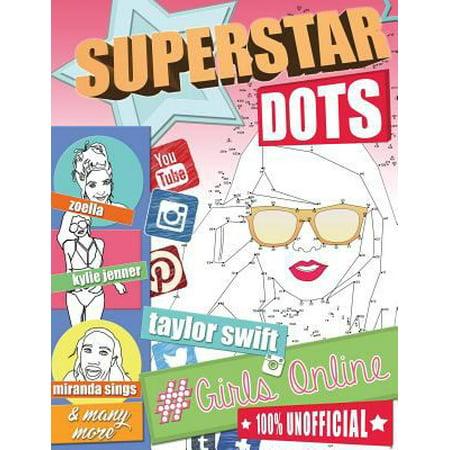 Superstar Dots   Girls Online  Famous Female Dot To Dot Puzzles  Megastars Of Youtube  Instagram  Snapchat  Tumblr  Twitter  Facebook