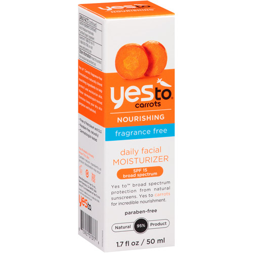 Yes To Carrots Nourishing Daily Facial Moisturizer, 1.7 fl oz
