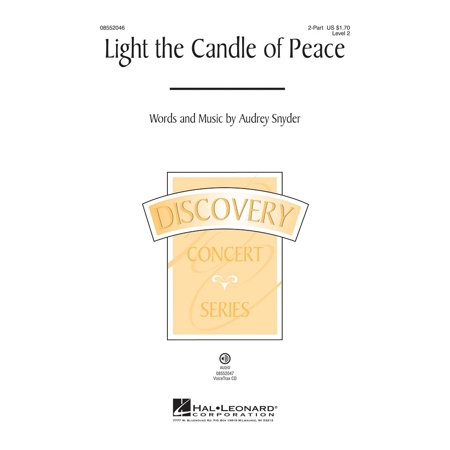 Hal Leonard Light The Candle Of Peace  Discovery Level 2  Voicetrax Cd Composed By Audrey Snyder