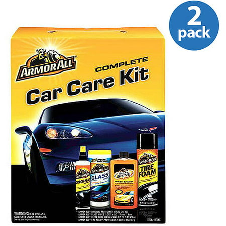 (2) Armor All Complete Car Care Kit Bundle - Give One, Keep One and Save! - Christmas Car Kit
