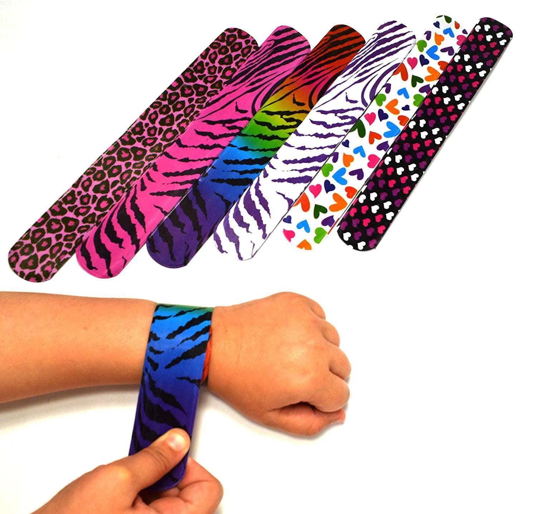 24 Patriotic Slap Bracelets ~ Great Party Favor ~ UST
