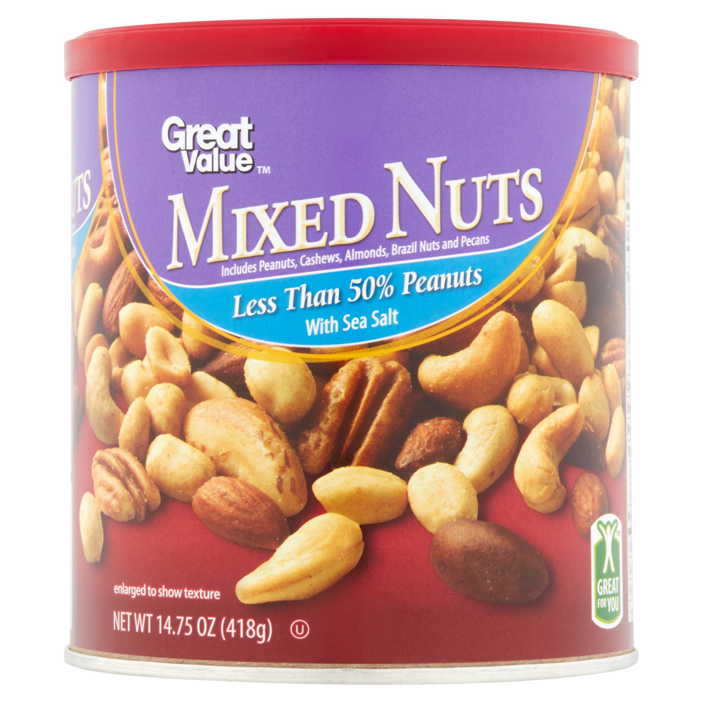 Great Value Mixed Nuts ,14.75 oz by Wal-Mart Stores, Inc.