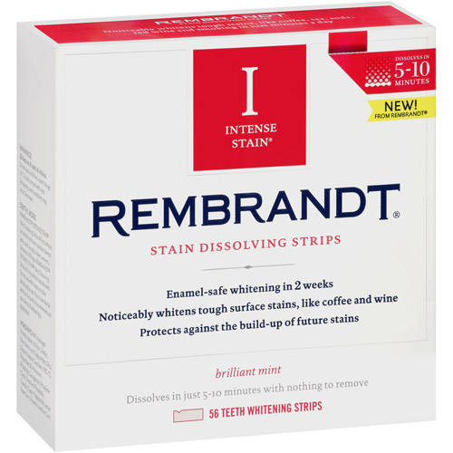 Rembrandt Intense Stain Stain Dissolving Strips, 56 count