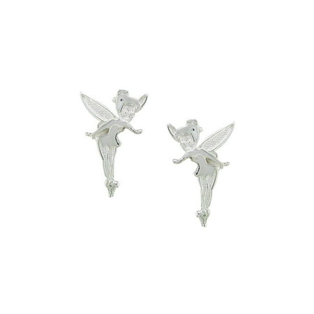 Disney Tinkerbell Jewelry - Disney Tinkerbell Fairies Sterling Silver  Stud Earrings Jewelry