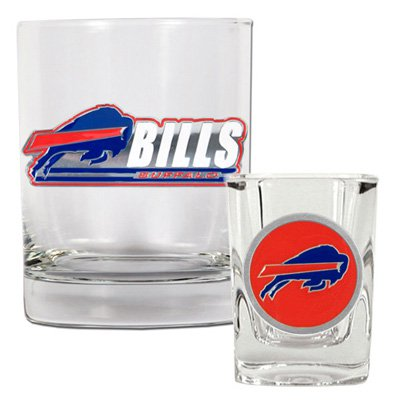 Great American NFL Rocks and Shot Glass Set