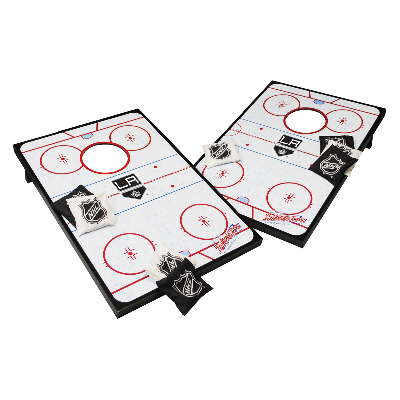 Click here to buy NHL Tailgate Toss Cornhole Set by Wild Sales LLC.