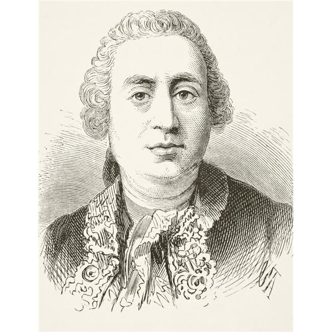 Posterazzi DPI1856359LARGE David Hume 1711 To 1776 Scottish Historian & Philosopher From The National & Domestic History of England by William Aubrey Poster Print, Large - 24 x 32