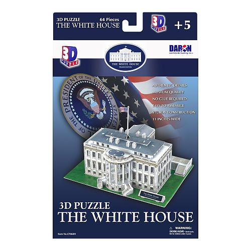 White House 3D Puzzle 64 Pieces by DARON