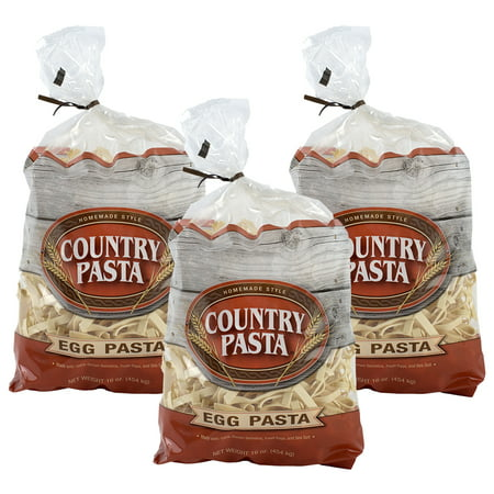 (3 Pack) Country Pasta Homemade Style Egg Pasta, 16