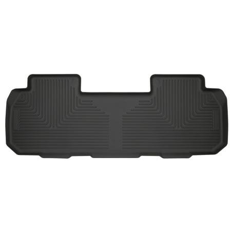 Husky Liners 14251 Black 2nd Seat Floor Liner (Fits 08-18 Enclave, 09-18 Traverse 2nd Bucket), 1 Pack