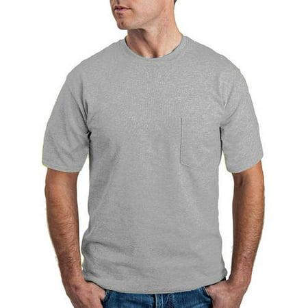 20b40e90 Gildan - Gildan Big and tall men's classic short sleeve t-shirt with pocket  - Walmart.com