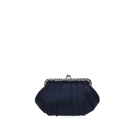 Kennis Pleated Convertible Clutch 3 Way Convertible Clutch