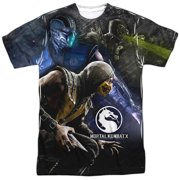 Mortal Kombat X - Three Of A Kind - Short Sleeve Shirt - Large